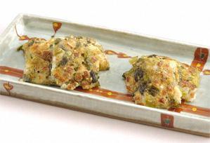 上沼恵美子のおしゃべりクッキング レシピ 作り方 発酵食品 高菜漬けのねぎ焼き