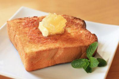 教えてもらう前と後 高級食パン バタートースト 作り方
