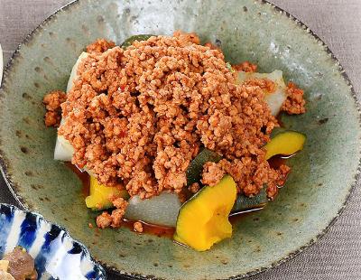 男子ごはん レシピ 作り方 国分太一 栗原心平 余りがちな調味料 冬瓜とかぼちゃの豆板醤肉みそがけ