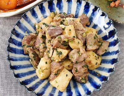 男子ごはん レシピ 作り方 国分太一 栗原心平 余りがちな調味料 砂肝と長芋のゆずこしょう炒め