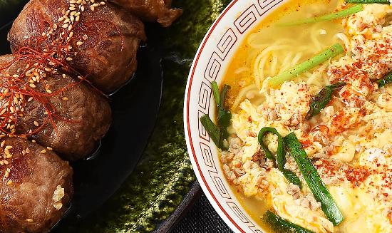 男子ごはん レシピ 作り方 国分太一 栗原心平 宮崎ご当地グルメ 肉巻きおにぎり 辛麺