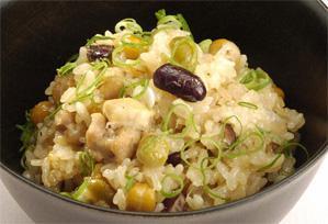 上沼恵美子のおしゃべりクッキング レシピ 作り方 彩り豆おこわ