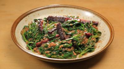 相葉マナブ なるほどレシピ 旬の産地ごはん 作り方 材料 新顔野菜 春菊 麻婆