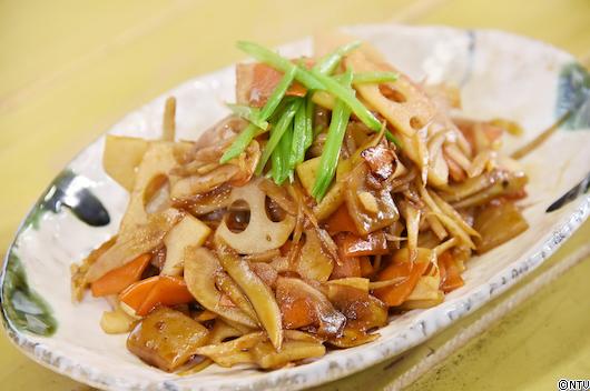 青空レストラン レシピ 作り方 3月9日 たまり醤油 愛知 南蔵商店 きんぴら
