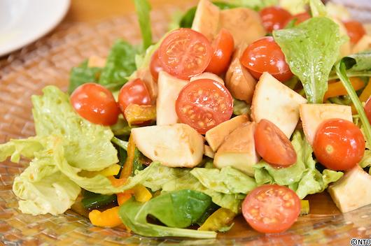 青空レストラン レシピ 作り方 3月9日 たまり醤油 愛知 南蔵商店 モッツァレラチーズのたまり漬けとサラダ