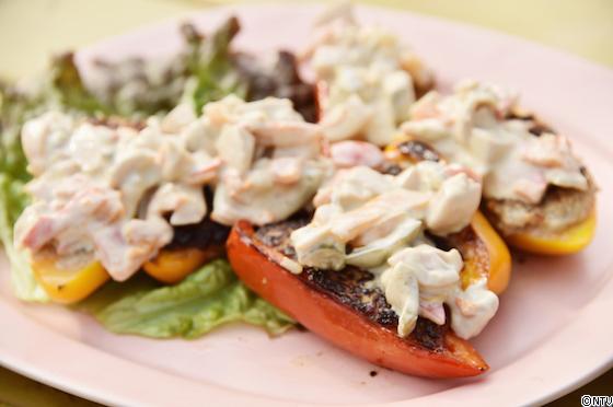 青空レストラン レシピ 作り方 3月23日 パプリカ キンプリ パプリカの肉詰め