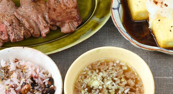男子ごはん レシピ 作り方 国分太一 栗原心平 ホワイトデー 牛タン定食 テールスープ