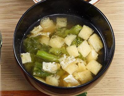 男子ごはん レシピ 作り方 国分太一 栗原心平 春の和定食 菜の花と油揚げの味噌汁