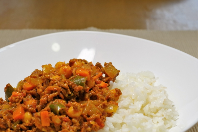 おはよう朝日です レシピ お寺ごはん 精進料理 キーマカレー