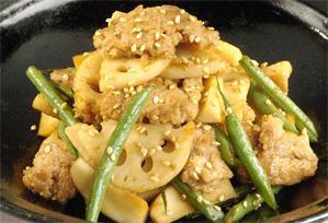 上沼恵美子のおしゃべりクッキング レシピ 作り方 ひき肉 蓮根のそぼろきんぴら