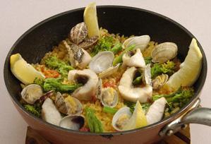 上沼恵美子のおしゃべりクッキング レシピ 作り方 春の魚介 パエリア