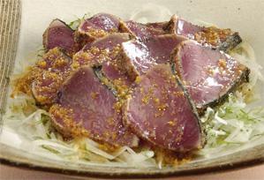 上沼恵美子のおしゃべりクッキング レシピ 作り方 かつおの黒胡椒風味