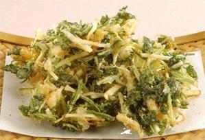 上沼恵美子のおしゃべりクッキング レシピ 作り方 香菜とジャガイモのかき揚げ