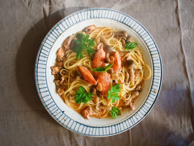 ヒルナンデス レシピ 作り方 簡単レシピ 漬けるだけレシピ めんつゆ漬け和風パスタ