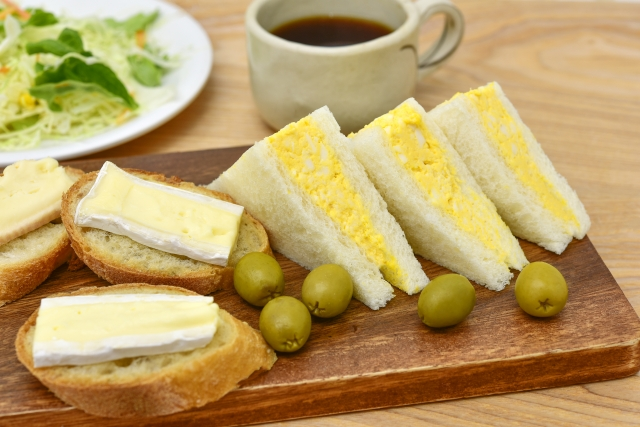 おはよう朝日です レシピ お寺ごはん 精進料理 玉子サンド 卵もどきサンドイッチ
