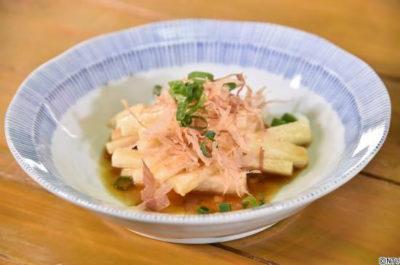 青空レストラン レシピ 作り方 4月13日 春掘り長芋 酢醤油和え