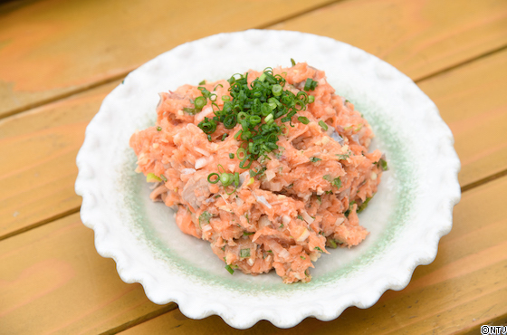 青空レストラン レシピ 作り方 4月27日 江戸前銀鮭 なめろう