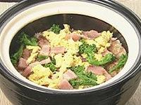オーソレミーヨ レシピ ハイヒールモモコ 簡単 4月13日 春香る菜の花とベーコンの炊き込みご飯