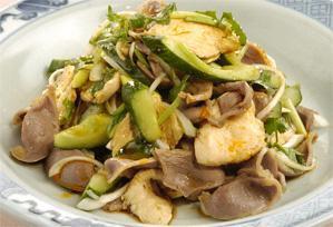 上沼恵美子のおしゃべりクッキング レシピ 作り方 ささみと砂肝の和えもの