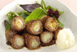 ねぎの牛肉巻き 上沼恵美子のおしゃべりクッキング レシピ 作り方