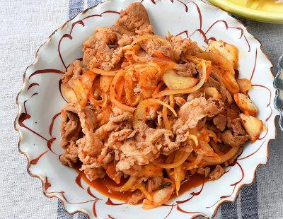 男子ごはん レシピ 作り方 国分太一 栗原心平 定番料理 炒め物 豚キムチ