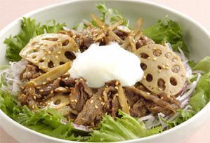 上沼恵美子のおしゃべりクッキング レシピ 作り方 サラダ 牛肉のサラダ