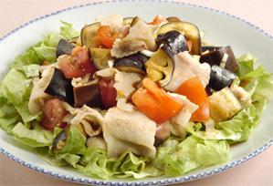 上沼恵美子のおしゃべりクッキング レシピ 作り方 サラダ なすと豚肉のサラダ