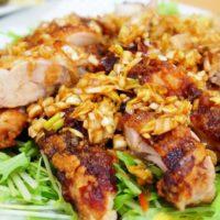 ヒルナンデス 木金レシピ 冷蔵庫の残り物 中華 油淋鶏ソース