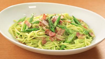 相葉マナブ なるほどレシピ 旬の産地ごはん 作り方 材料 アスパラガス クリームスパゲッティ