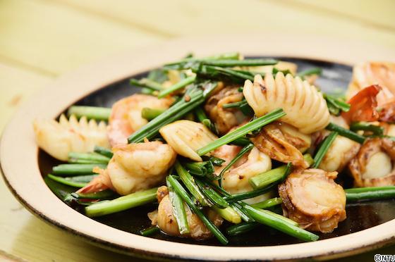 青空レストラン レシピ 作り方 ねぎにら海鮮炒め 栃木 宇都宮