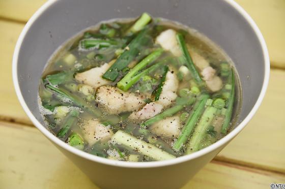 青空レストラン レシピ 作り方 ねぎにらスープ 栃木 宇都宮