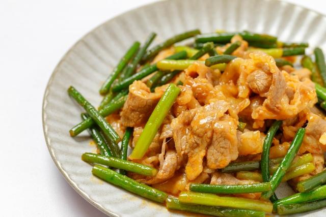 男子ごはん レシピ 作り方 国分太一 栗原心平 スタミナ定食 豚バラ肉とニンニクの芽のスタミナ炒め