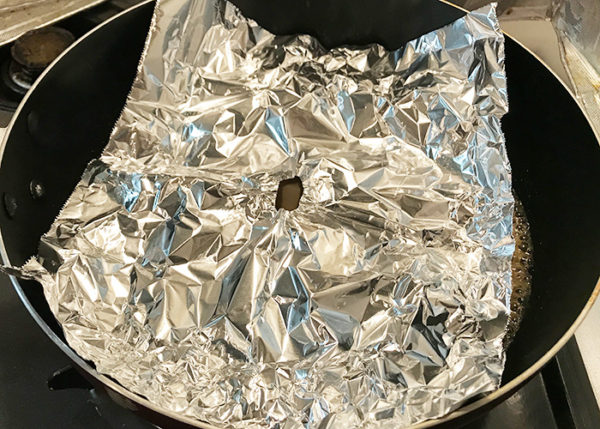 木金レシピ イワシ缶 イワシの味噌煮 作り方 落とし蓋