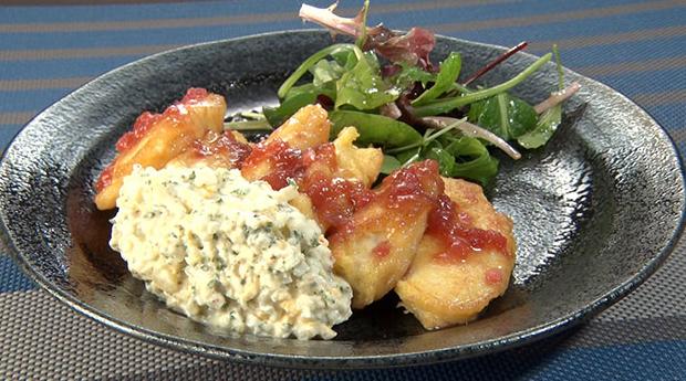 魔法のレストラン レシピ 作り方 材料 サラダチキン南蛮 北野ホテル