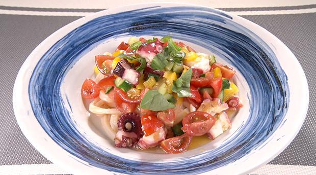 魔法のレストラン レシピ 作り方 材料 竹内流冷製イタリアントマトうどん
