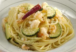 上沼恵美子のおしゃべりクッキング レシピ 作り方 ズッキーニと海老のスパゲッティ