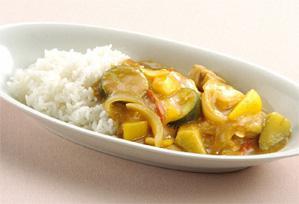 上沼恵美子のおしゃべりクッキング レシピ 作り方 カレー チキンと夏野菜のカレー