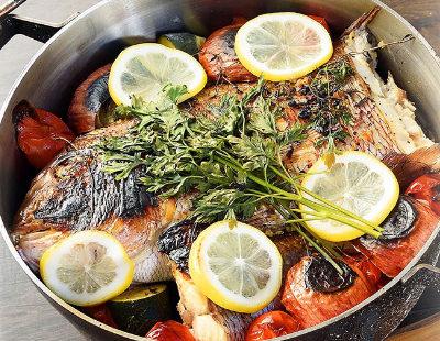 男子ごはん レシピ 作り方 国分太一 栗原心平 バーベキュー 鯛とハーブのオーブン蒸し