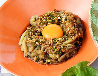 男子ごはん レシピ 作り方 国分太一 栗原心平 夏野菜 ナスの冷やし麺風香味ダレ