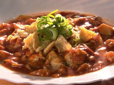 今ちゃんの実は グルメ ロケ 夜食 ダイアン 料理人 作り方 レシピ ハヤシ麻婆豆腐