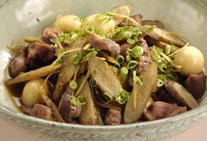 上沼恵美子のおしゃべりクッキング レシピ 作り方 簡単スピードメニュー 砂肝の生姜煮