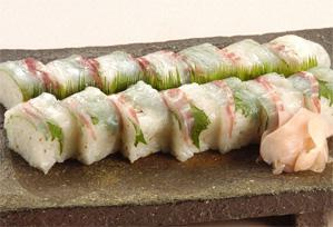 上沼恵美子のおしゃべりクッキング レシピ 作り方 鯛の棒ずし
