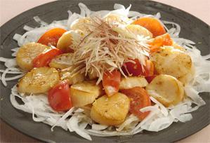 上沼恵美子のおしゃべりクッキング レシピ 作り方 ホタテとトマトのさっぱり和え