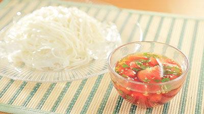 相葉マナブ なるほどレシピ 旬の産地ごはん 作り方 材料 トマト トマトだれそうめん