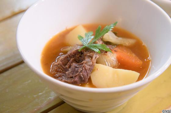 青空レストラン レシピ 作り方 北里八雲牛 ピリ辛スープ