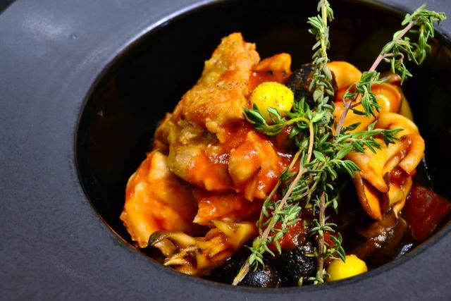 ビビット レシピ ワンボウルレシピ 鶏肉のカチャトーラ