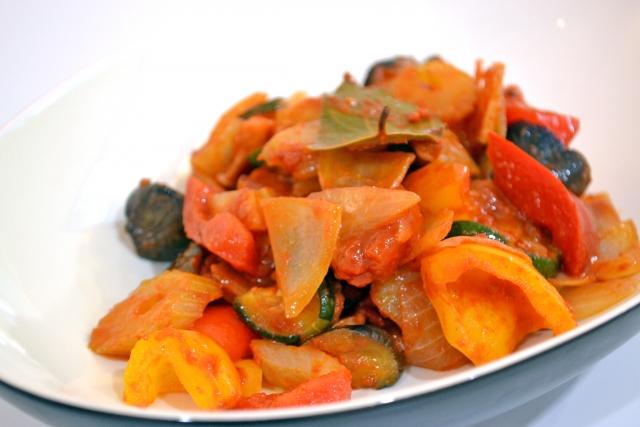 ビビット レシピ ワンボウルレシピ 野菜たっぷりラタトゥイユ