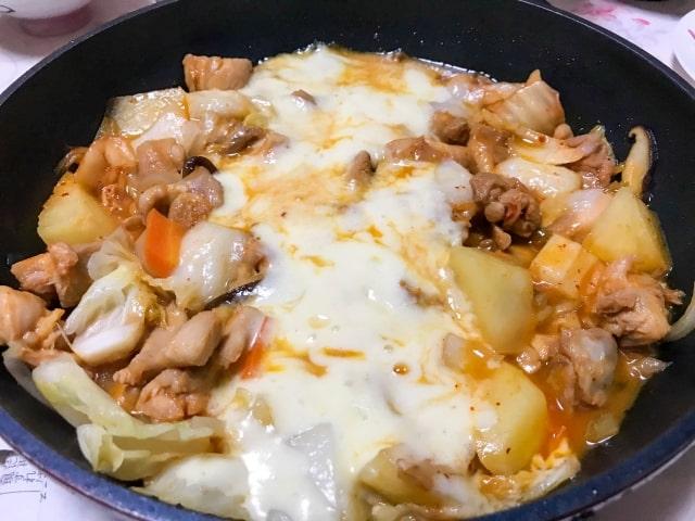 スッキリ レシピ 仕込みごはん 簡単 チーズタッカルビ