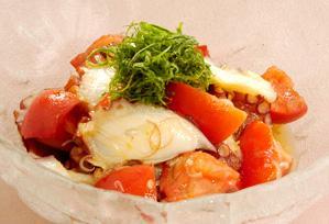 上沼恵美子のおしゃべりクッキング レシピ 作り方 トマトとたこの和えもの