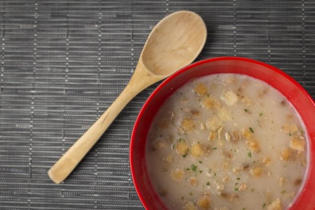 スッキリ レシピ 美腸スープ ポークトマト豆乳スープ Atsushi